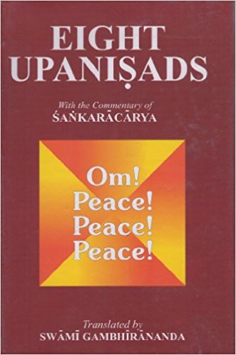 Eight Upanisads by Swami Gambhirananda