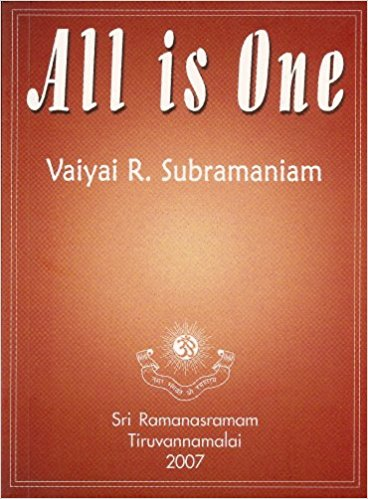All Is One by Vaiyai Subramaniam