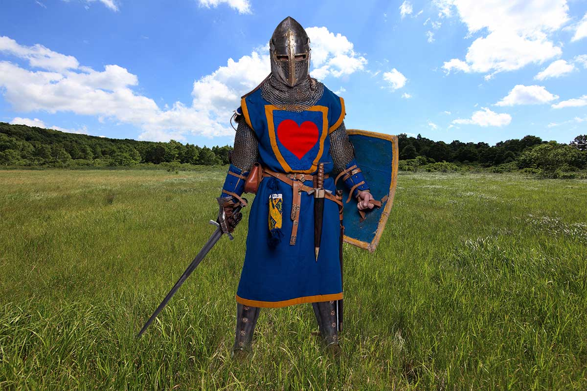 knight of the heart