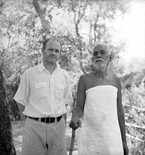Guy Hague with Sri Ramana Maharshi, wp_22