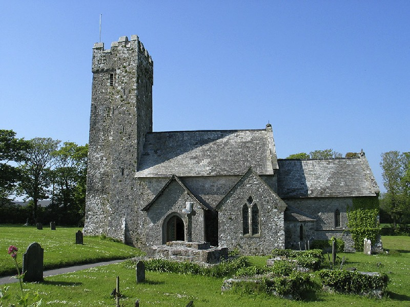 St. Michael and All Angels Church, Bosherston